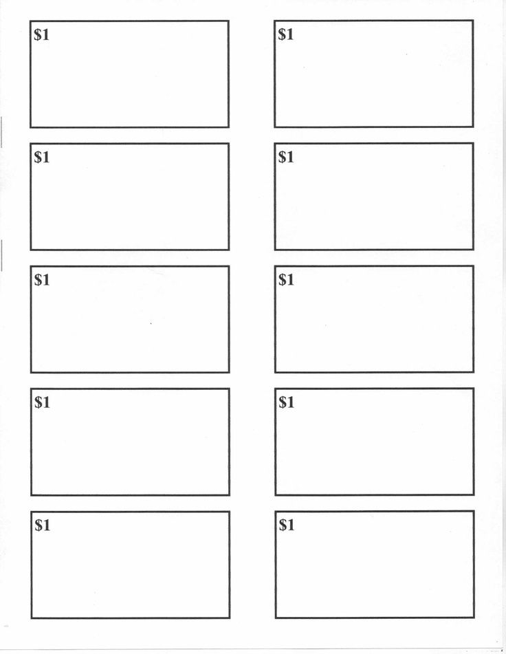 Behavior bucks blank reward bucks for use with a reward for Classroom bucks template
