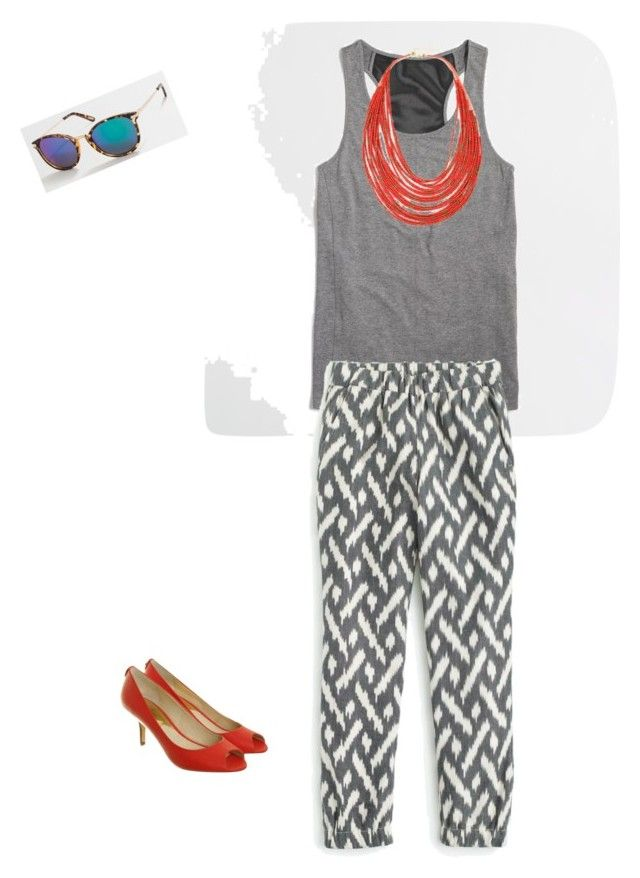 """Untitled #220"" by smag on Polyvore featuring J.Crew and Michael Kors"