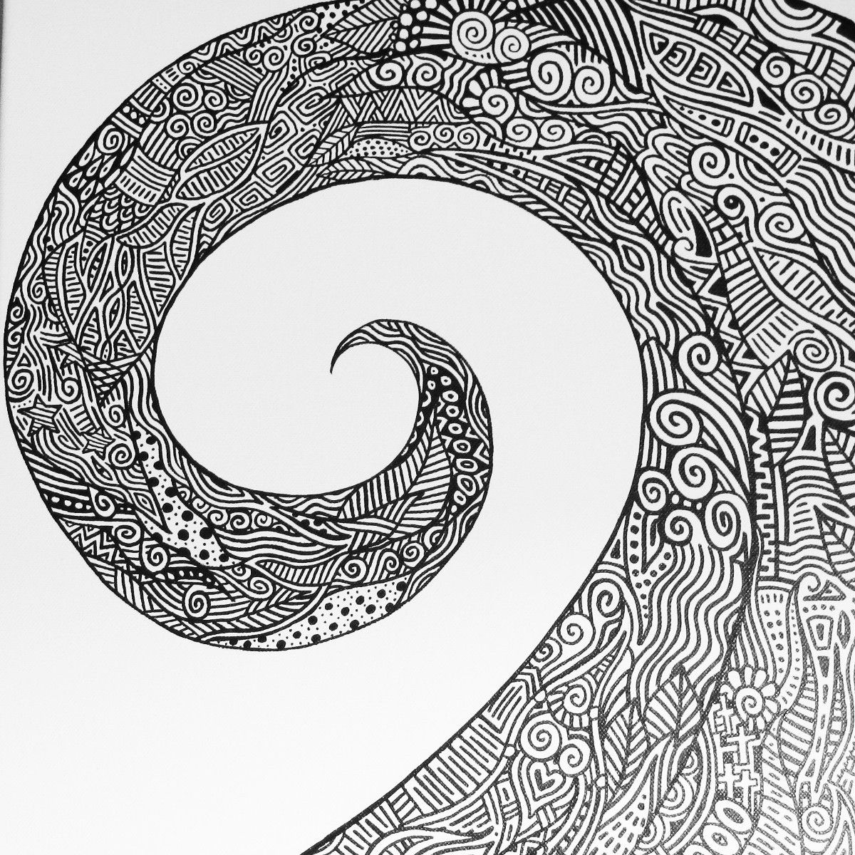 Free printable zentangle coloring pages for adults - Intricate Coloring Pages For Adults Coloring Pages Pictures These Ones Are Actually Free And Go Beyond Mandalas Pinterest Adult Coloring