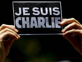 FRENCH satirical magazine Charlie Hebdo has been inundated with fresh death threats after featuring two naked Muslims on the front cover this week.