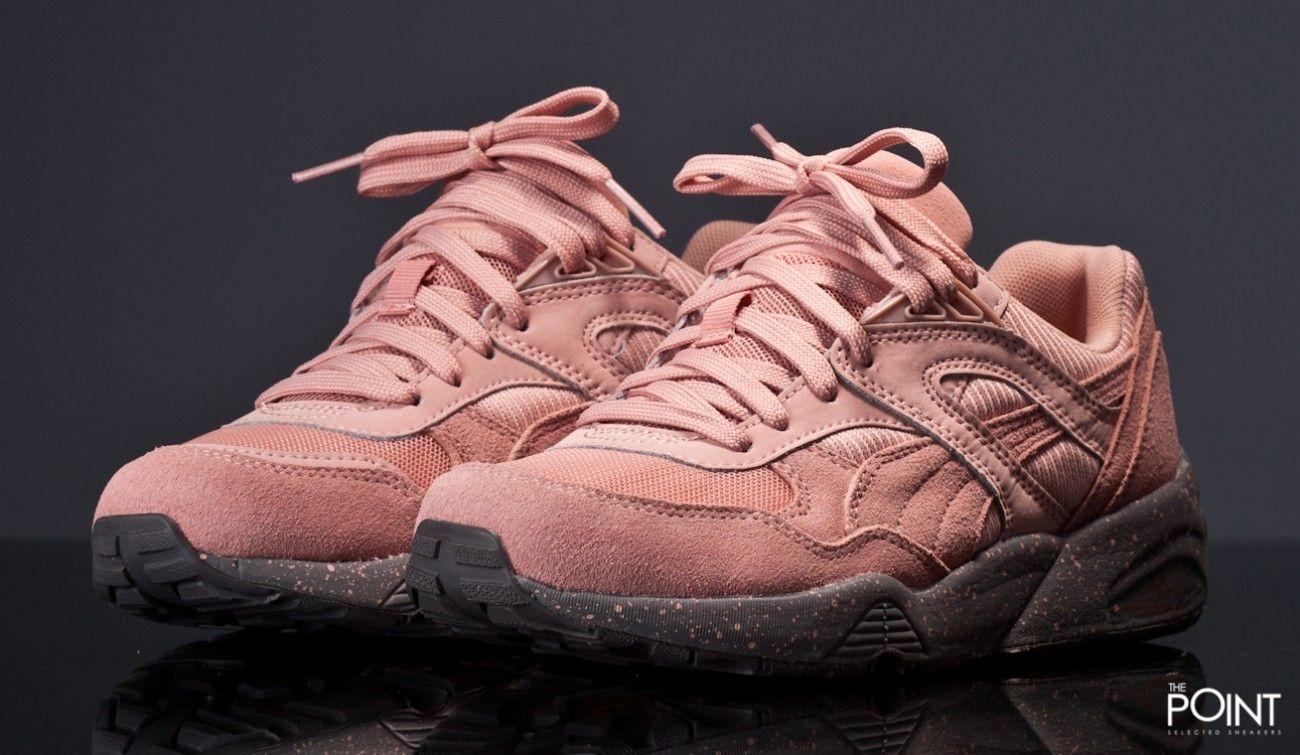 puma trinomic coral pink