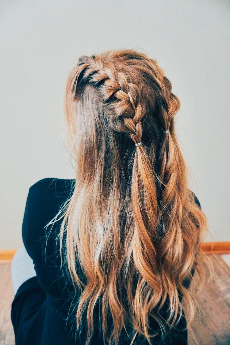 Pin By Anneke Jensen On Hair Hair Styles Medium Hair Styles Braided Hairstyles