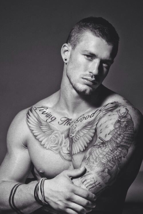 There S Just Something About A Good Looking Guy With Ink Tattoos For Guys Tattoos