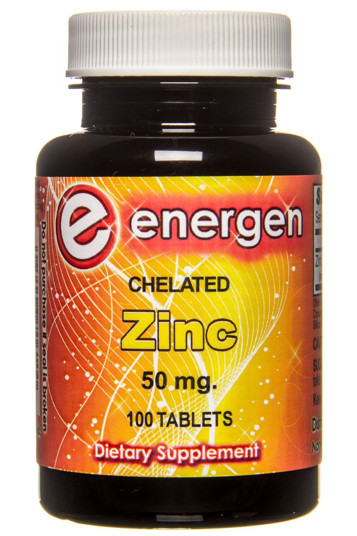 Zinc Chelate 50 mg, 100 tablets in 2020 Zinc supplements