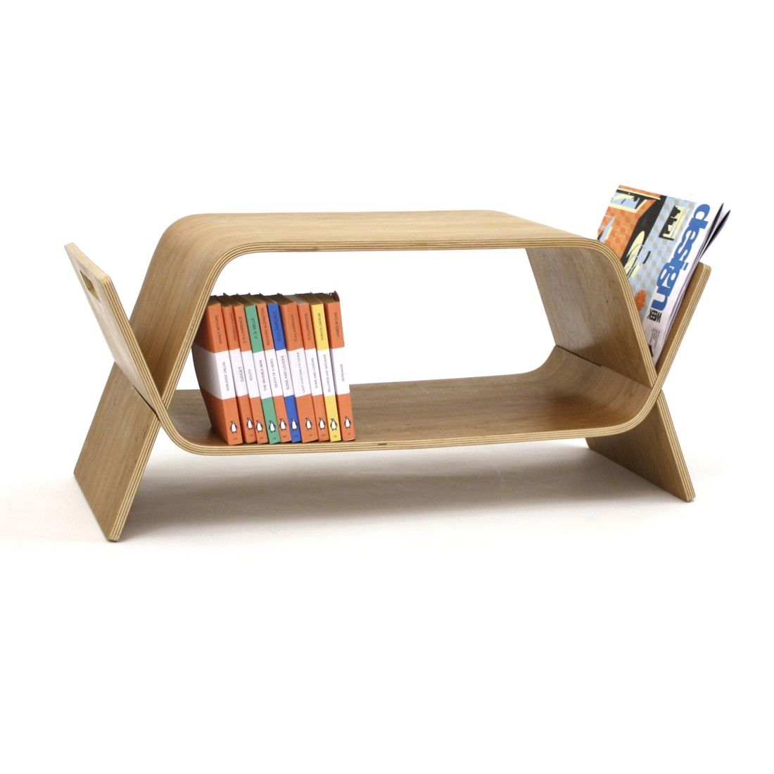OFFI Embrace Media Storage Or Table, Magazine Rack, Table, Tv Stand, Media  Table
