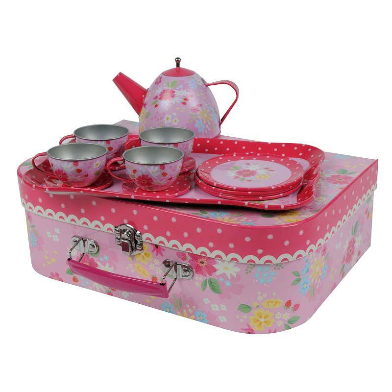 Tiger Tribe Vintage Tea Set - Strawberry