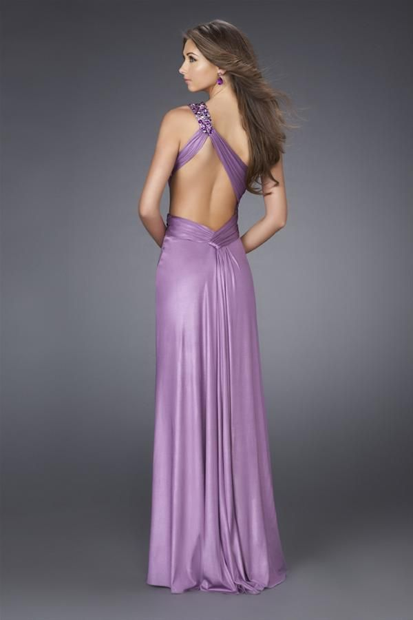 Vestidos largos de fiesta para mujeres delgadas