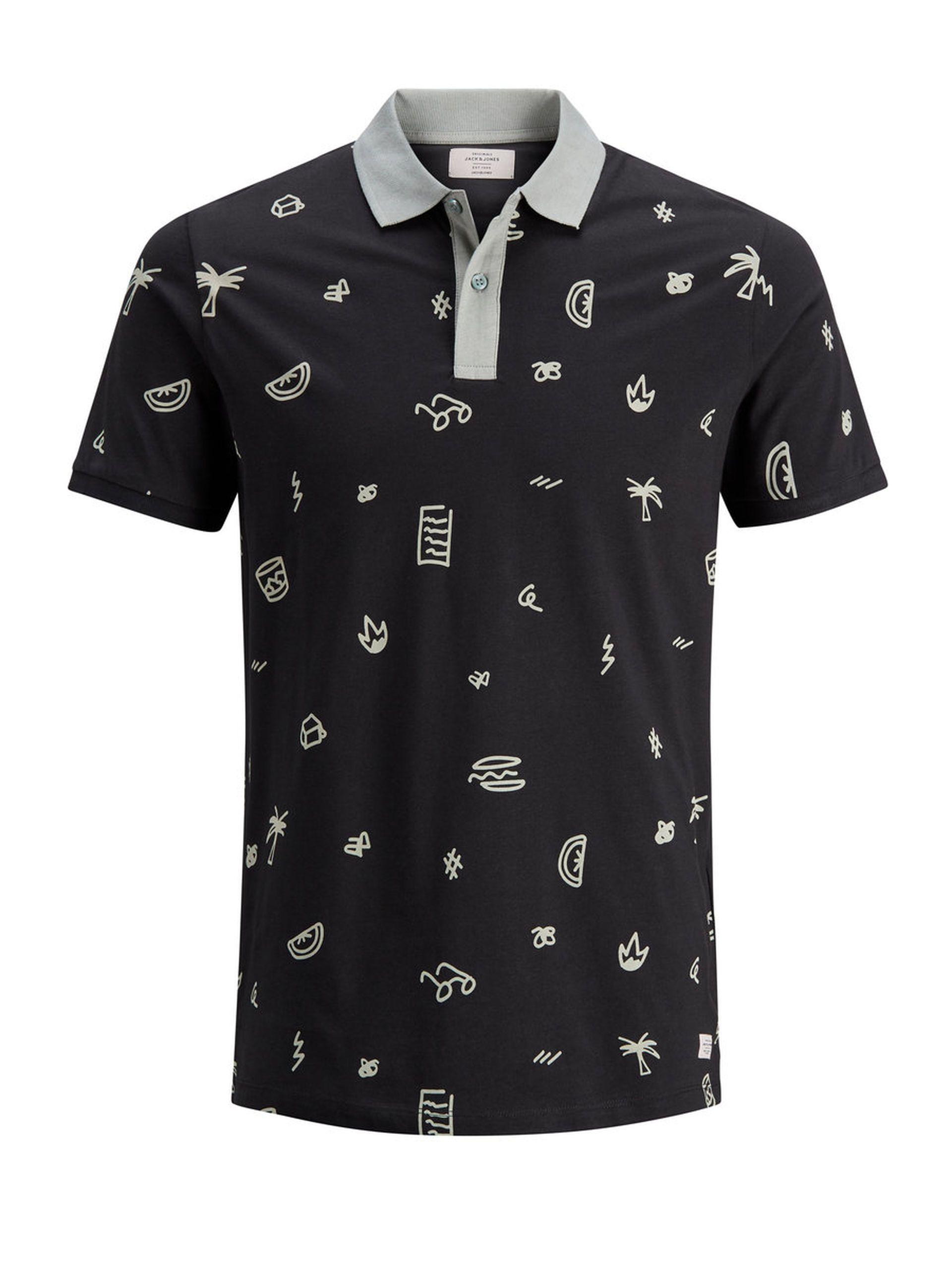 Printed Polo Shirt Jack Jones Clothes Pinterest Printed