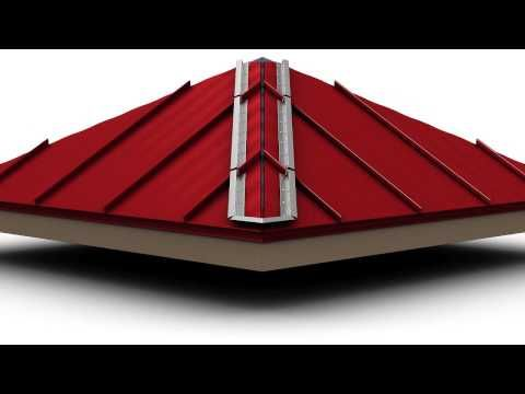 How To Install Standing Seam Metal Roofing Hip Cap Youtube Standing Seam Metal Roof Metal Roof Metal Roof Installation