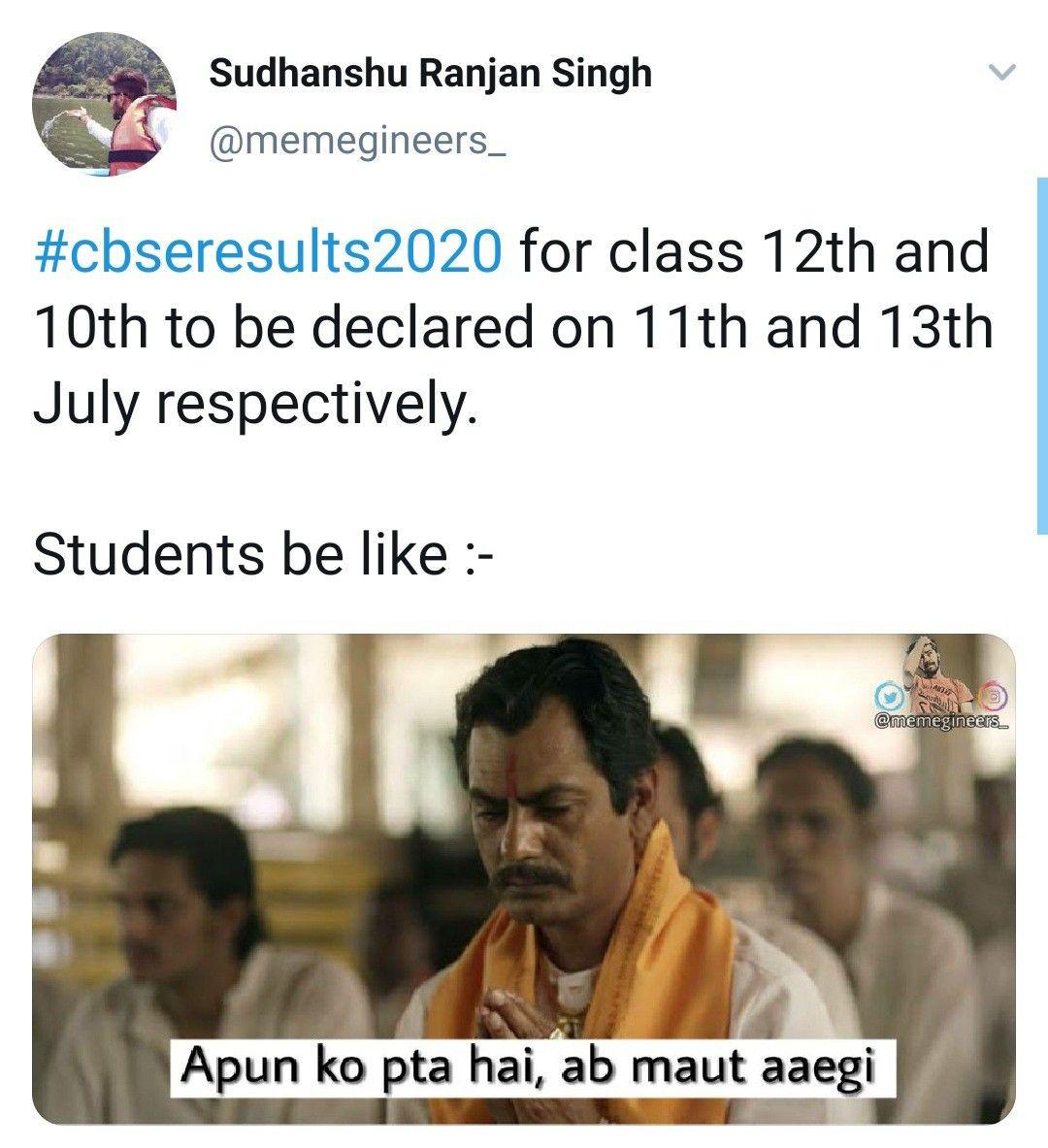 School Meme Cbse Result Meme Class 12th Funny Memes Funny Indian Memes Hindi Memes Funny Memes Memes School Memes