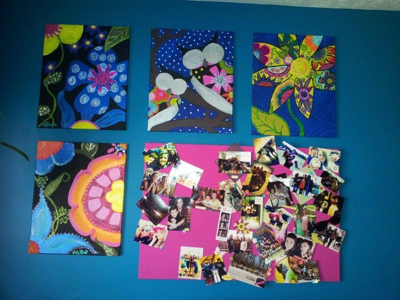diy art work for teenagers room craft ideas pinterest. Black Bedroom Furniture Sets. Home Design Ideas