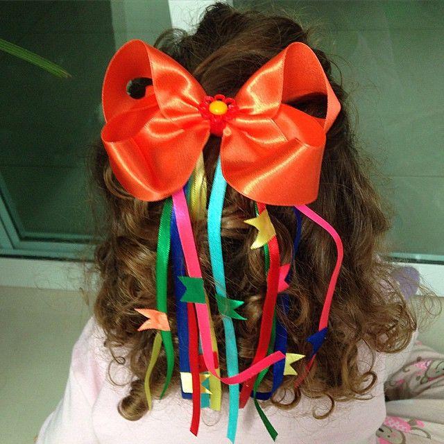Vamos escolher um lindo laço para sua Princesa arrasar nas Festas Juninas !   lilifrufru  amolilifrufru  festajunina  laçojunino  lacoslindos efe310f5295