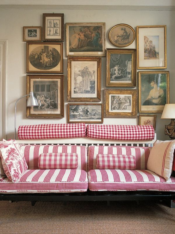 Gallery Wall | Pinterest | Pink living room sofas, Living room sofa ...