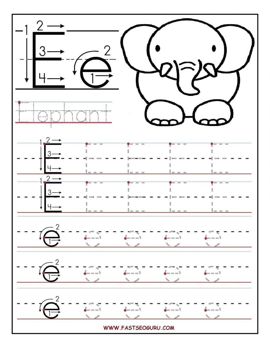 Awesome Toddler Letter Tracing Worksheets That You Must
