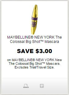 graphic relating to Maybelline Printable Coupons titled Pin as a result of Erica Hart upon i ♥ coupon codes Maybelline mascara