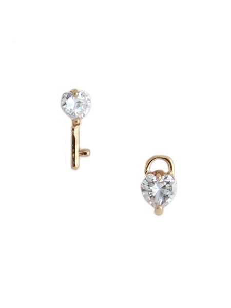 be1556220 olive + piper Love Lock Down Studs | Look What I bought Today ...