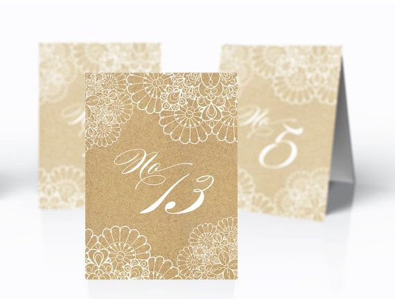 Printable Wedding table numbers Instant download Lace Table - Download Numbers Spreadsheet For Mac