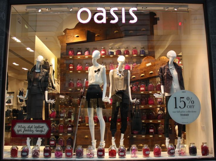 OASIS candy........sorry, fabric store, pinned by Ton van der Veer