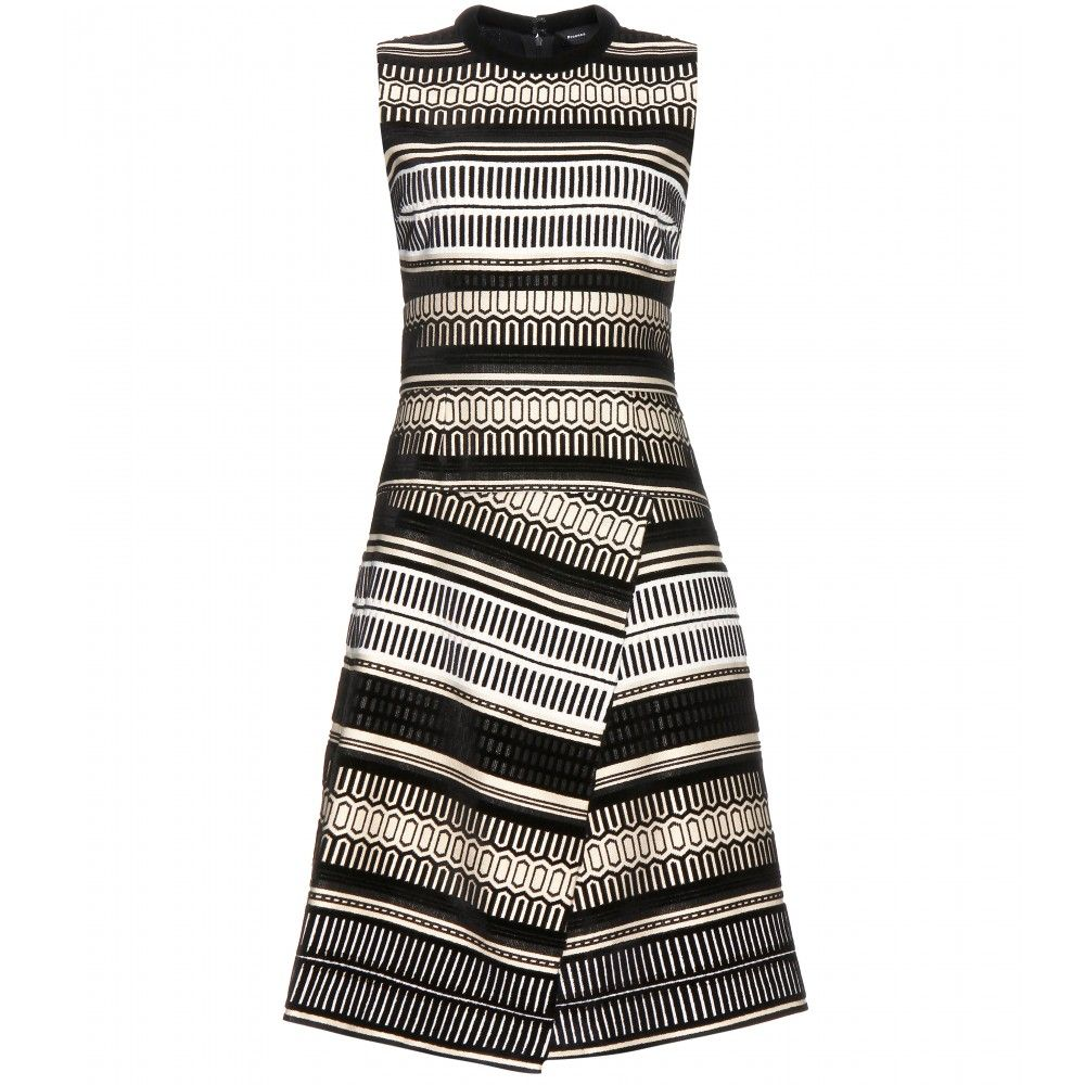 mytheresa.com - Jacquard dress - Knee-length - Dresses - Clothing - Proenza Schouler - Luxury Fashion for Women / Designer clothing, shoes, bags
