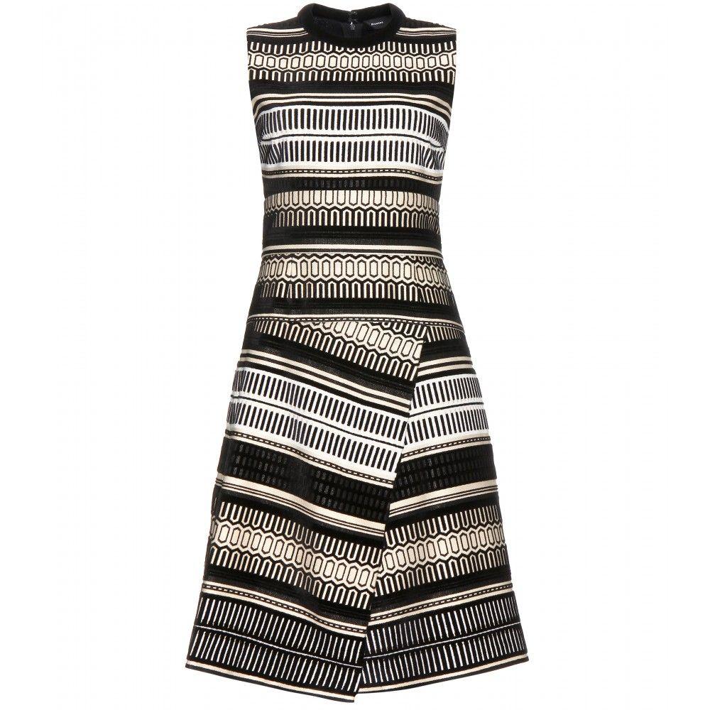 mytheresa.com - Jacquard dress - Knee-length - Dresses - Clothing - Proenza Schouler - Luxury Fashion for Women / Designer clothing, shoes, bags
