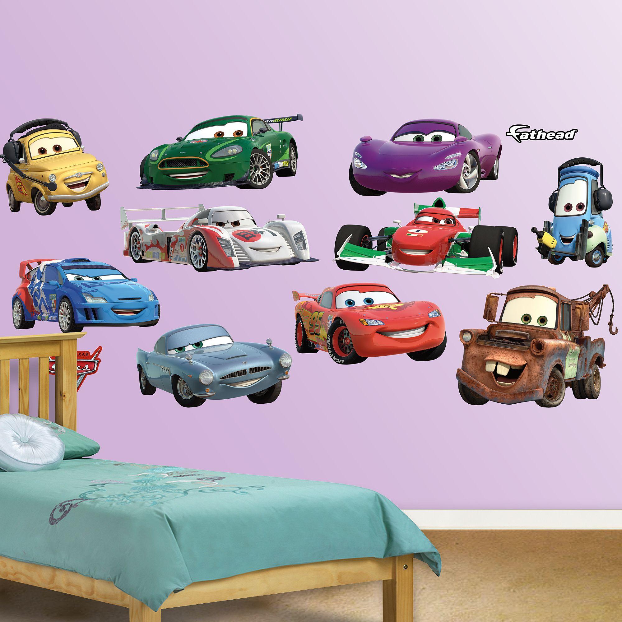 Disney Pixar Cars 2 Collection Disney Car Decals Disney Cars Disney Pixar Cars [ 2000 x 2000 Pixel ]