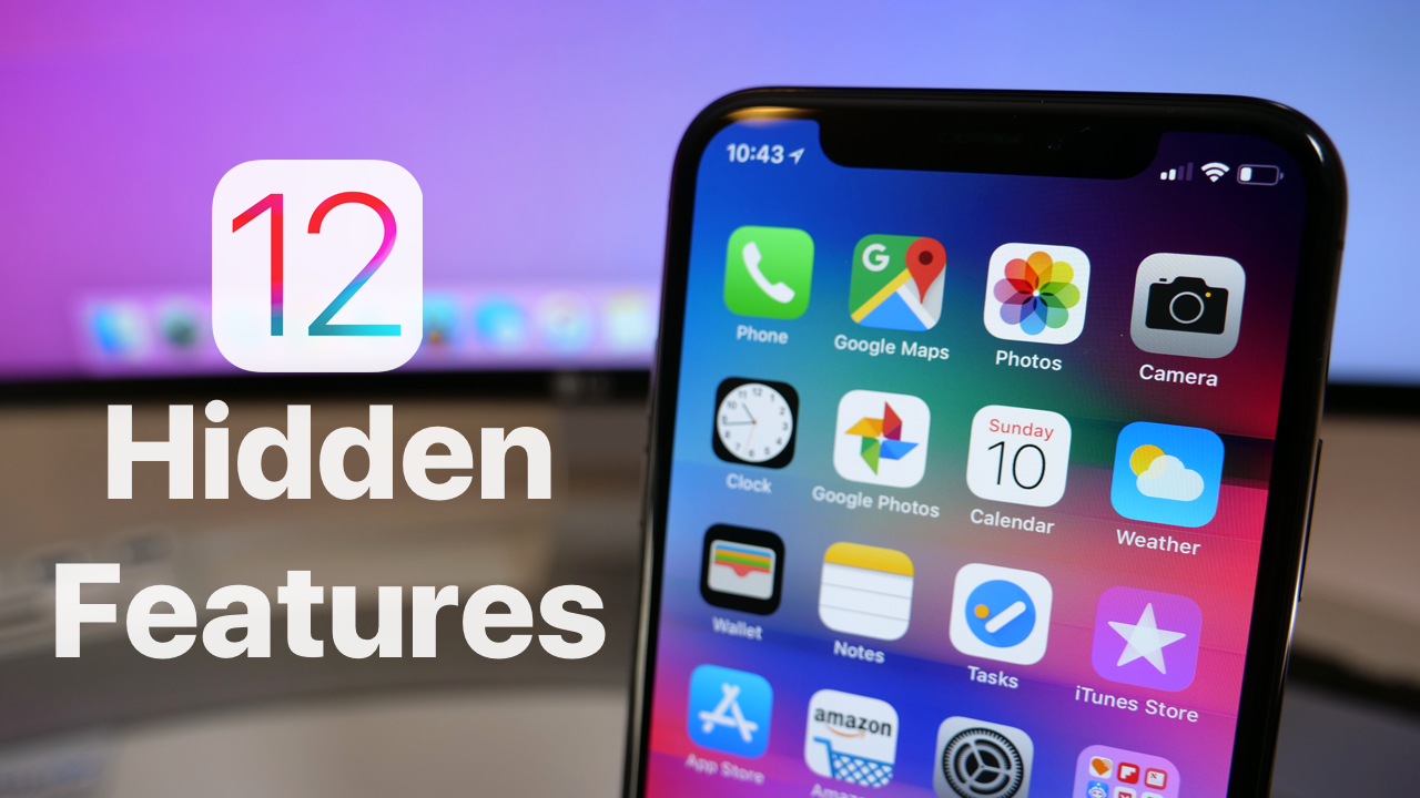 iOS 12 Hidden Features You May Not Know Ios, Facetime