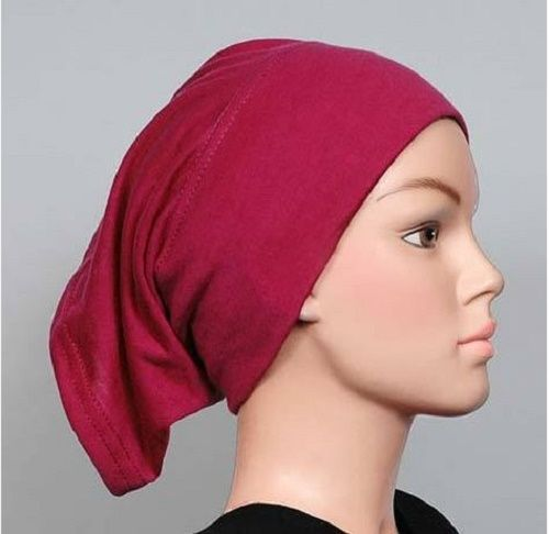 Magenta cotton tube headband abaya khimar hijab inner muslim undercap . Starting at $1