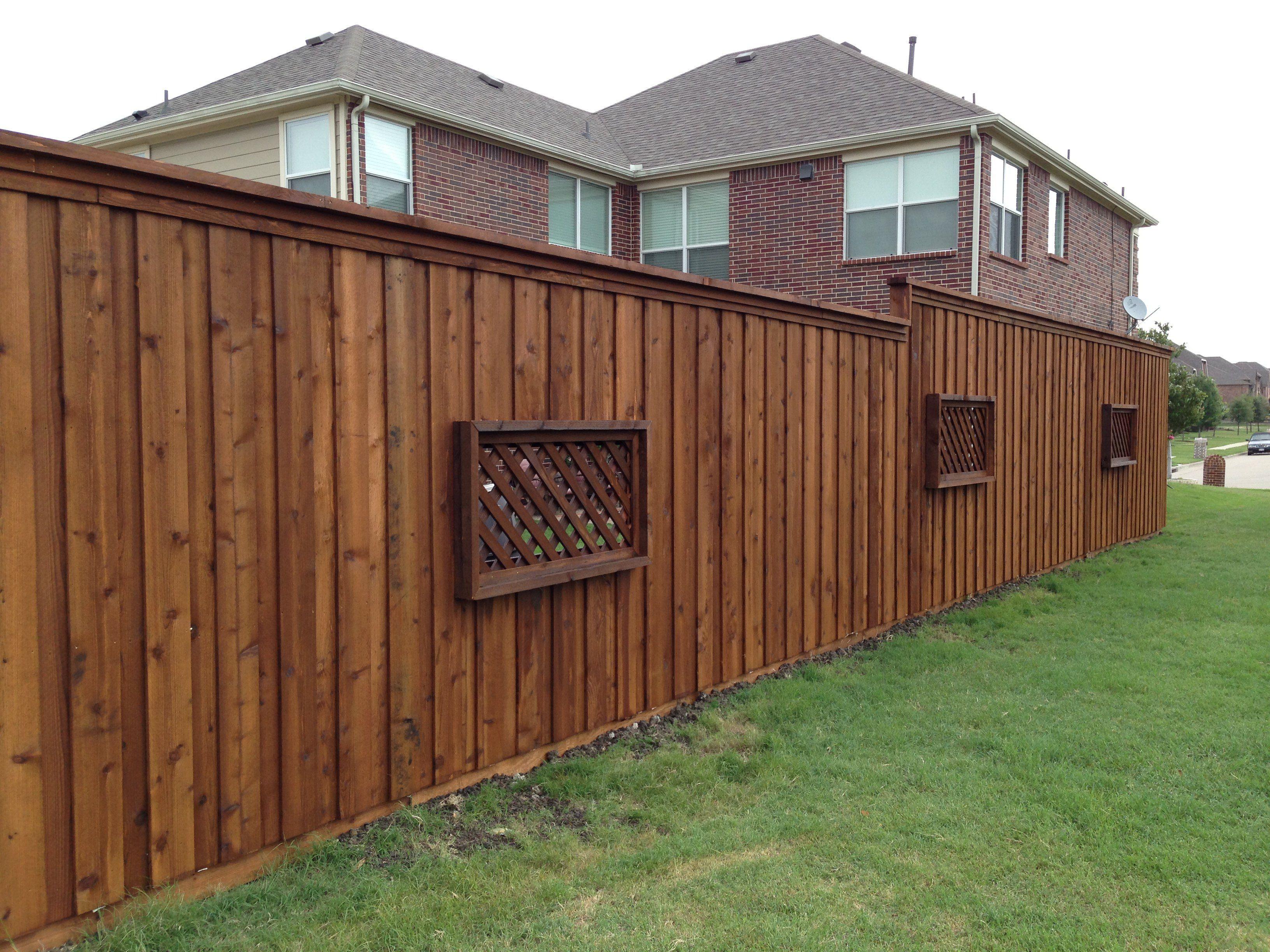 Lattice Fence, Fence Ideas, Backyard Ideas, Fences, Privacy Walls, Outdoor
