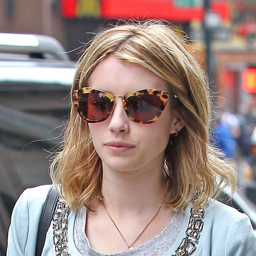 d26a096e812c ... For the Hottest Sunglasses. Emma Roberts - Miu Miu SMU10N