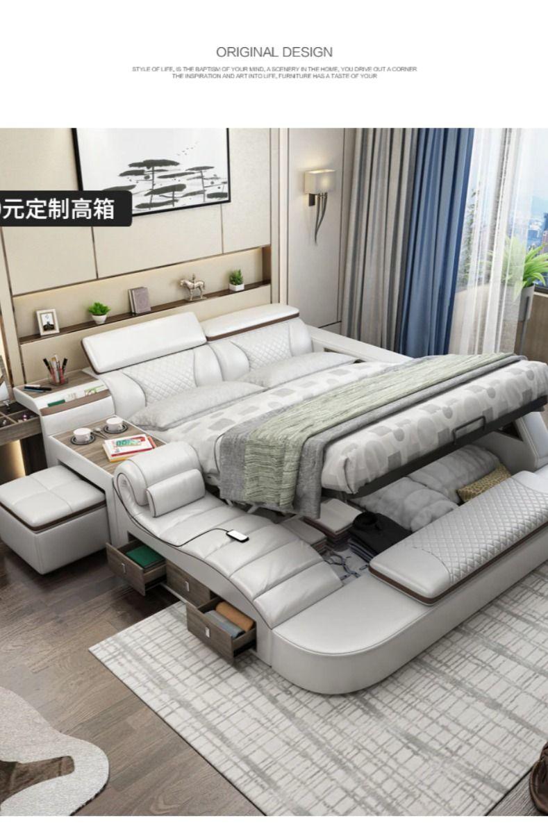 Smart Bed Smart Bed Leather Bed Frame Bed Design