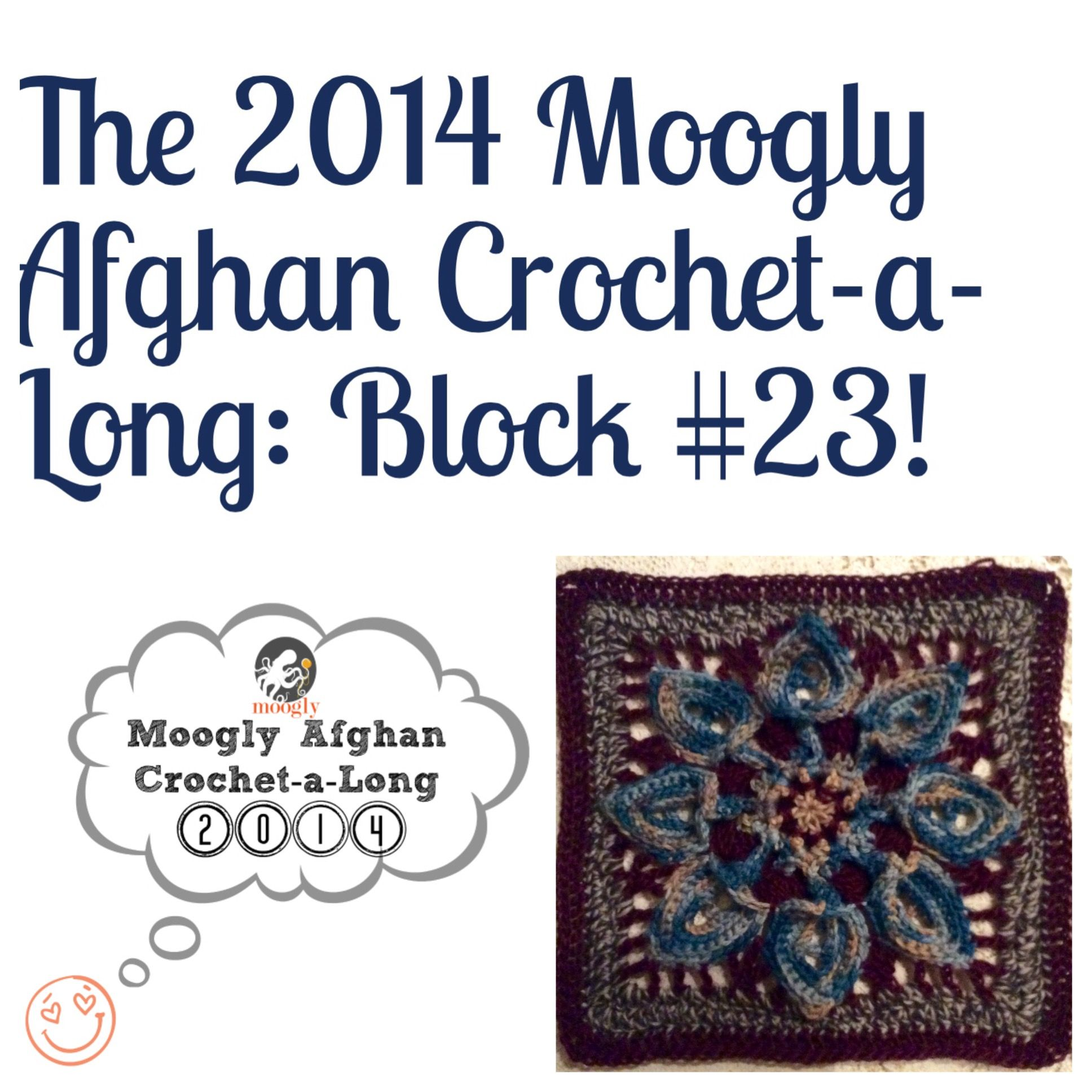Moogly Afghan CAL Block #23 :) http://www.mooglyblog.com/moogly-cal ...