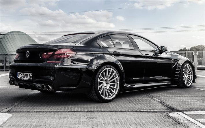 Download Wallpapers Bmw 6 Coupe Black Bmw Prior Design Bmw