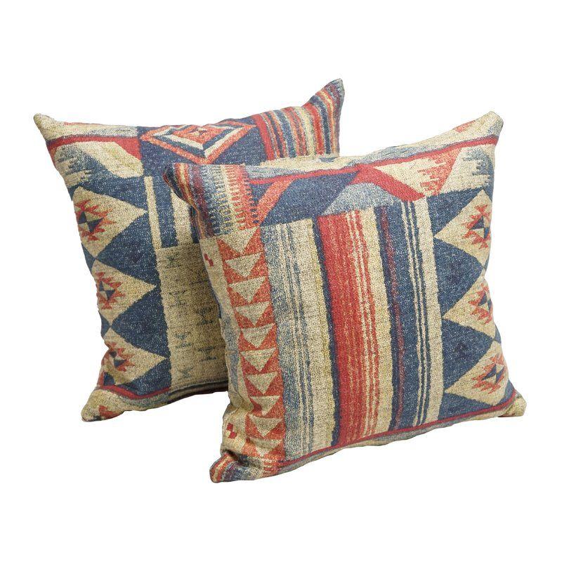 Carpentier Cotton Throw Pillow Linen Throw Pillow Throw Pillows Cotton Throw Pillow