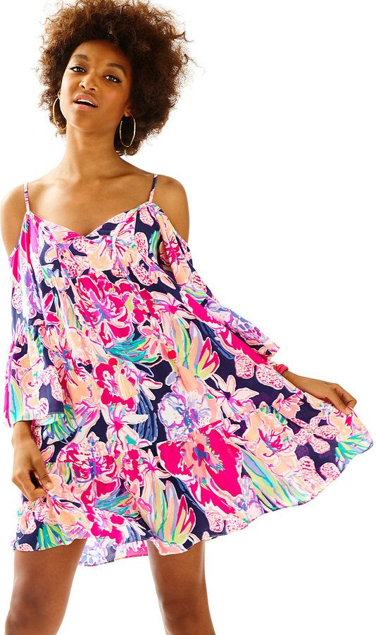04c260aed1a7b Lilly Pulitzer Alanna Off The Shoulder Dress