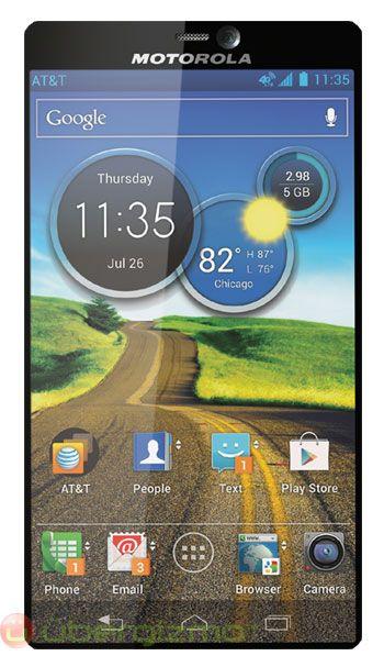 Motorola's next phone allegedly full-screen = frameless