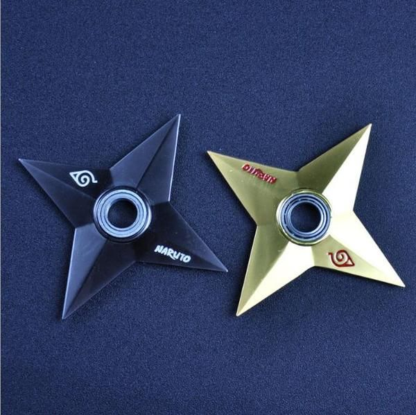 Fidget Spinners Naruto Shuriken Ninja Star Fidget Spinners