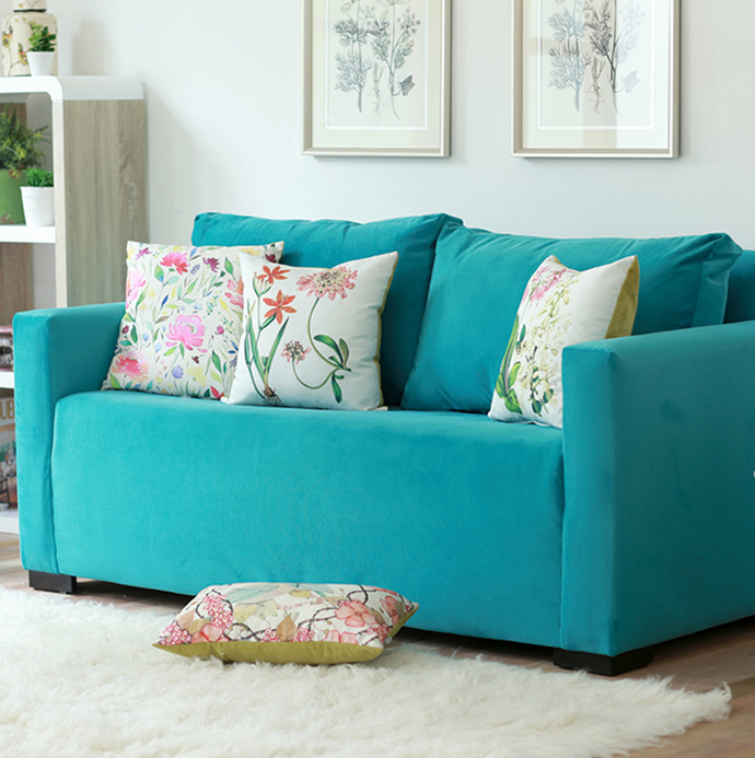 Turquesa sof y hogar for Decoracion hogar sodimac