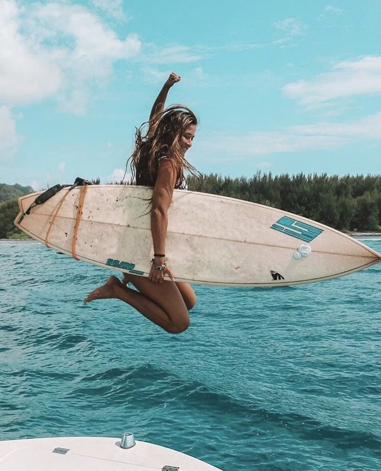 Surf girl...   Cool in 2019   Surfing, Beach, Surfs up 8f933ff6678