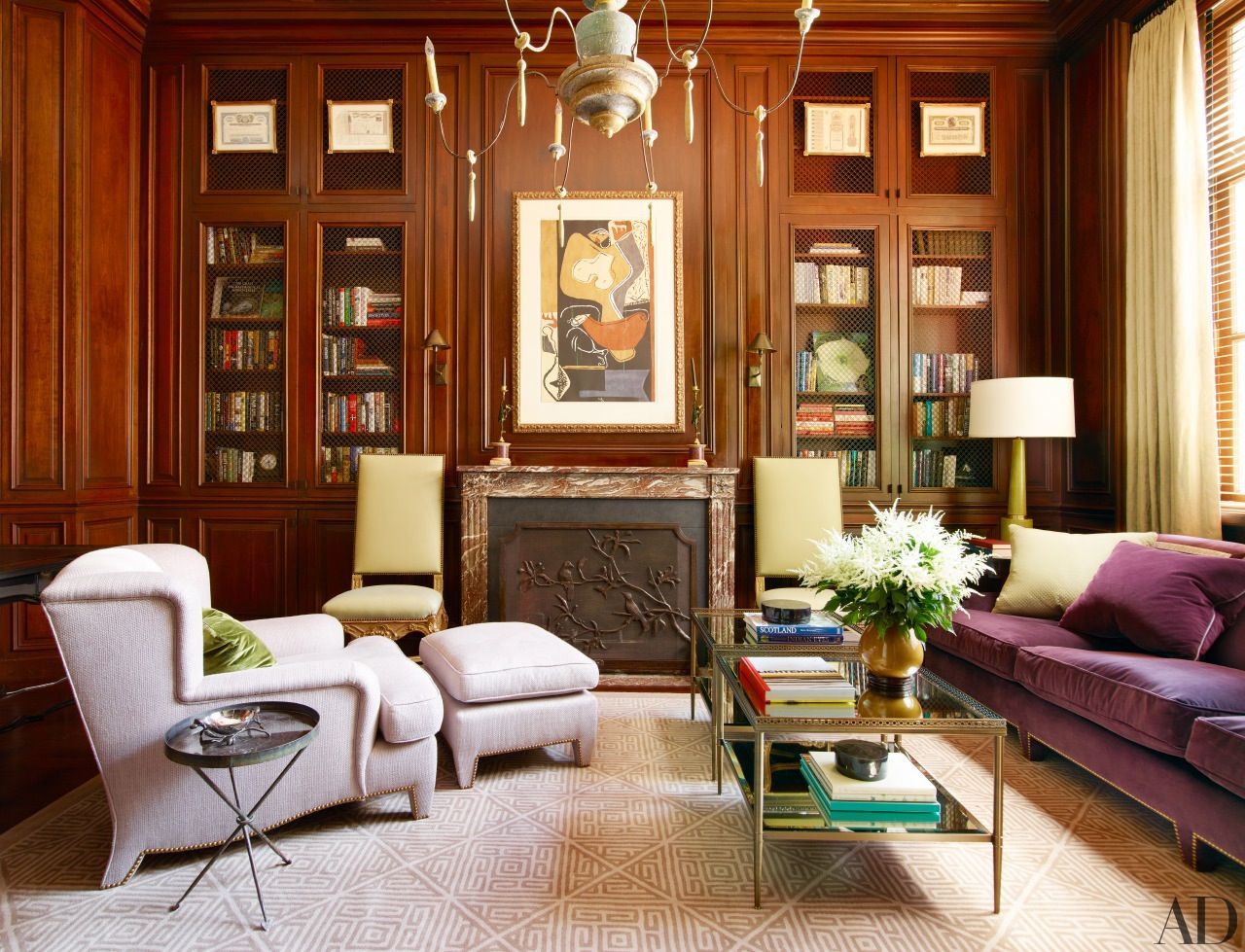 25 Inspiring Home Liries | Architects, Liry inspiration and ... on luxury home study room design, home office study design, traditional study room interior design, home office den study,