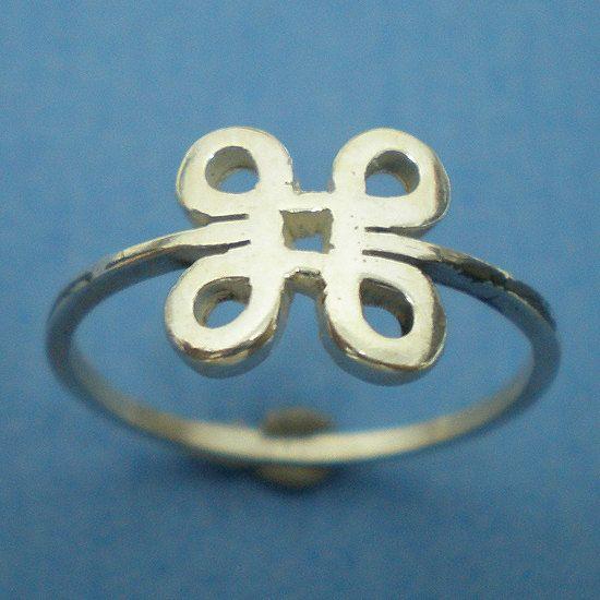 Mac Command Symbol Silver Ring Geekery Jewelry Us 3 Por Yhtanaff