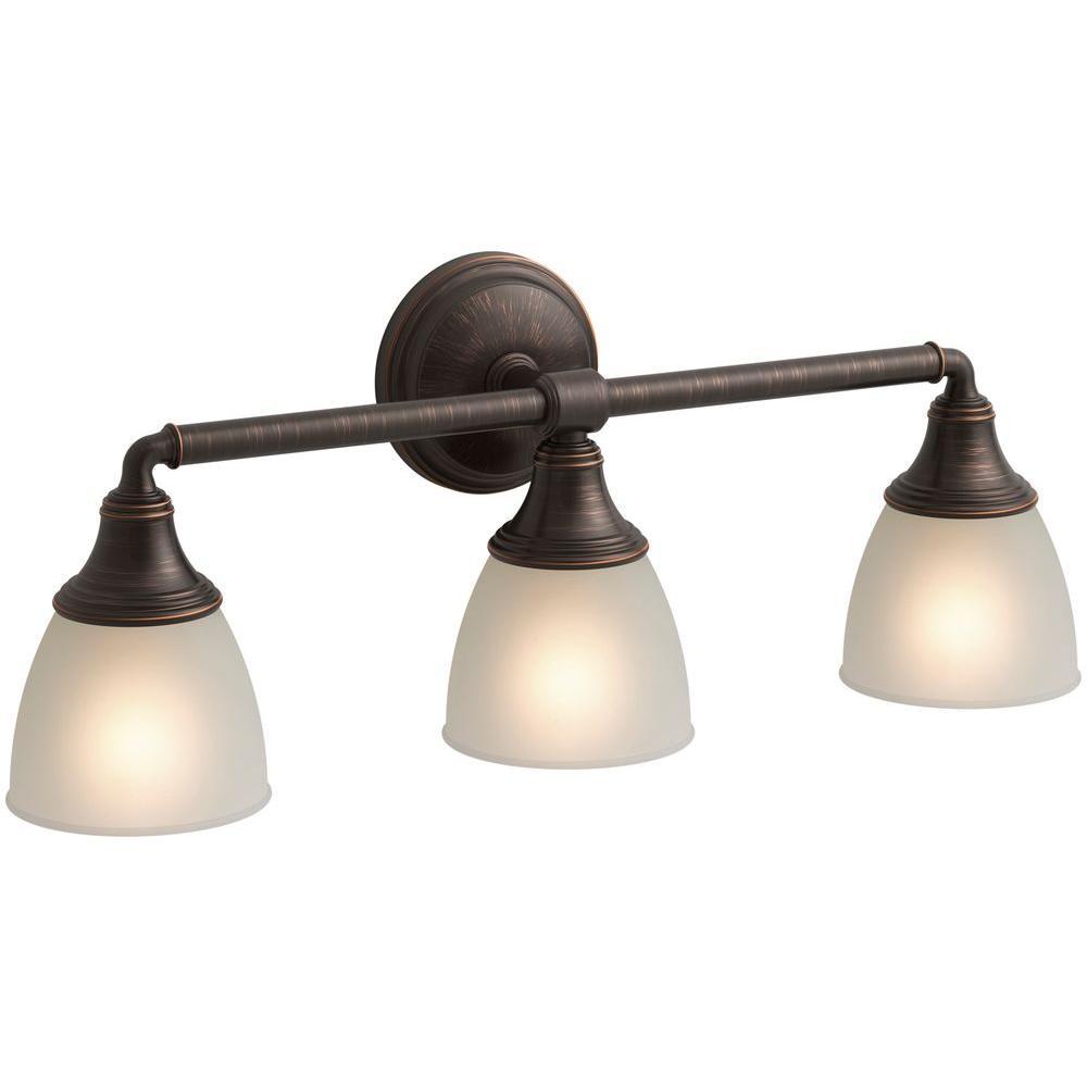 Kohler Devonshire 3 Light Vanity Light In Vibrant Brushed Nickel K