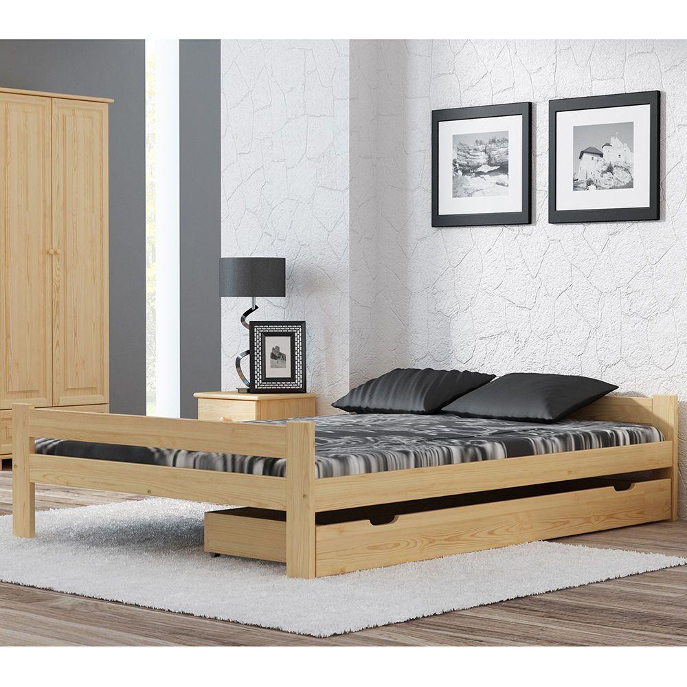 Komfortbett Doppelbett Ehebett Massivholz 120x200cm