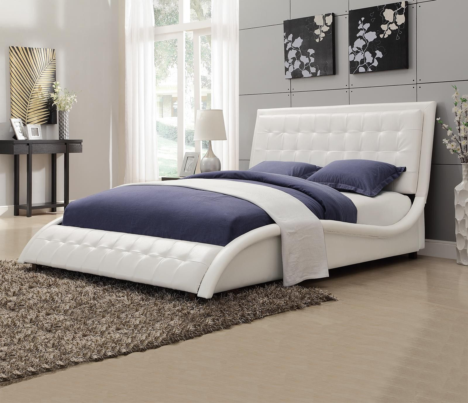 How Terrific Ideas Queen Upholstered Bed With Interesting Storage
