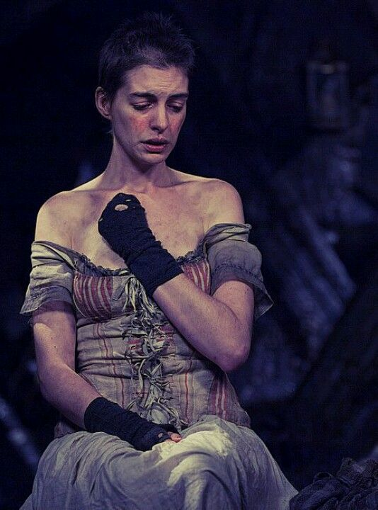 Anne Hathaway As Fantine In The 2013 Film Adaption Of The Musical