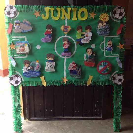Peri dico mural de junio school ideas d pinterest for El mural periodico
