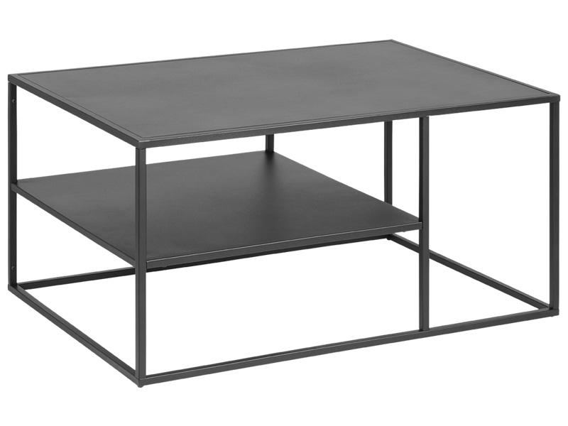 Table Basse Virum Noir 274008 Couchtisch Couchtisch Metall Couchtisch Antik