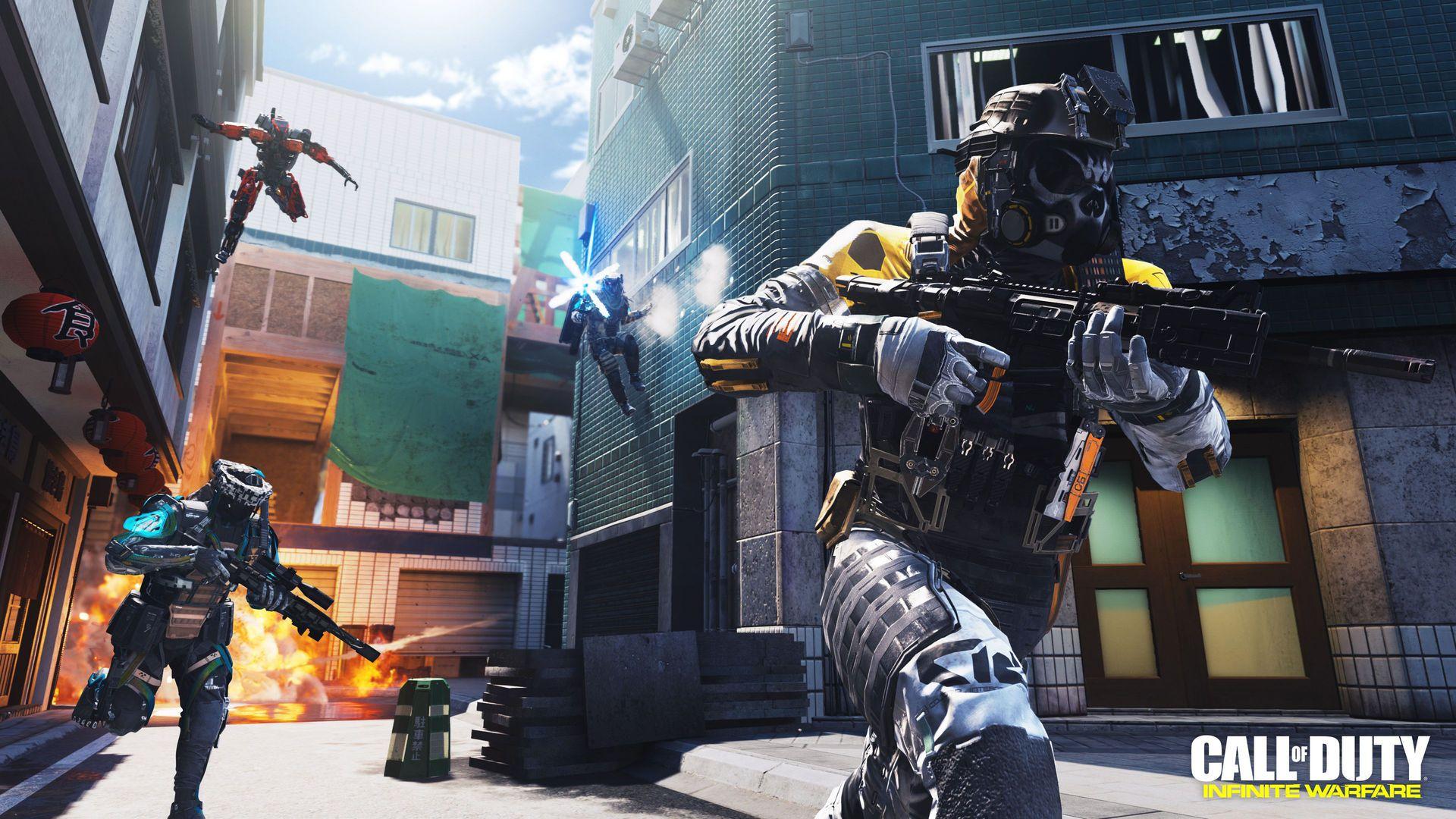 Wallpaper HD Call of Duty Infinite Warfare Shooter