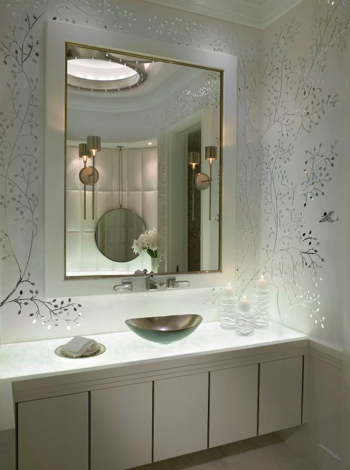 Ocean Penthouse Miami Beach - contemporary - Bathroom - Miami - alene  workman interior design, inc
