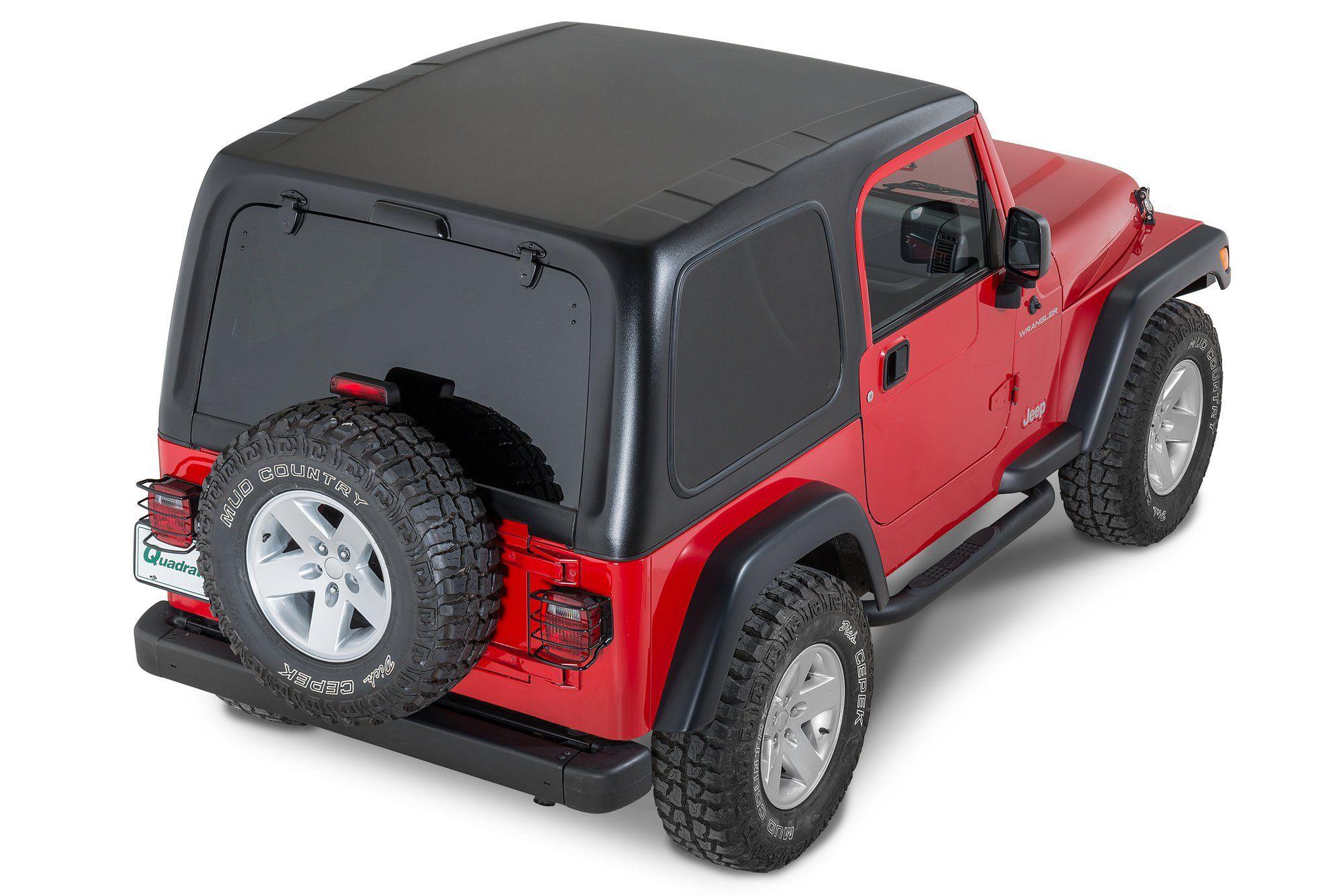 Smittybilt 619701 1 Piece Hardtop Without Upper Doors For 97 06 Jeep Wrangler Tj Jeep Wrangler Tj Wrangler Tj Smittybilt