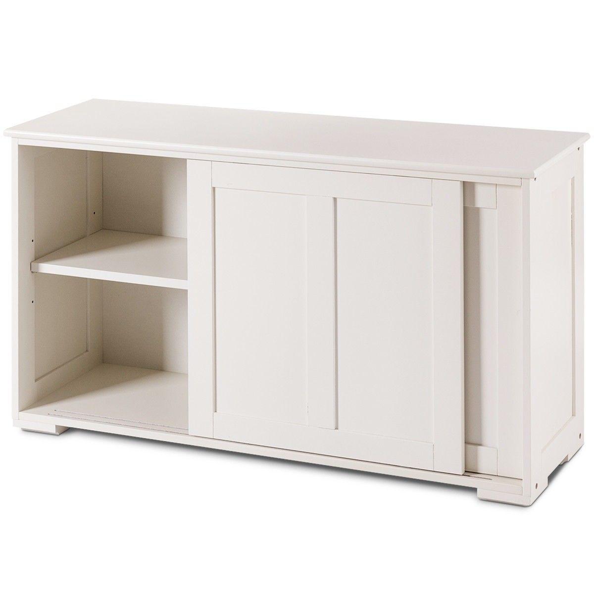 Kitchen Storage Cupboard Cabinet With Sliding Door Kitchen Furniture Storage Cupboard Storage Wooden Storage Cabinet